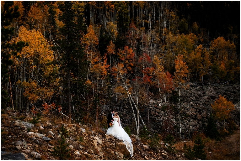 Sky View At Fall River Village Wedding Photographer