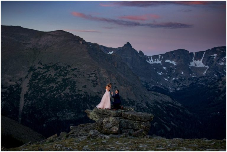 estes park proposal colorado photogpaher